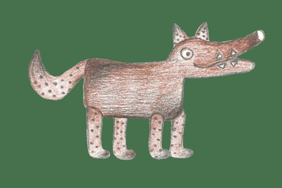 De Grote Wolf – Houten Speelgoed Eindhoven