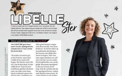 De Grote Wolf is genomineerd voor de Libelle STER 2018